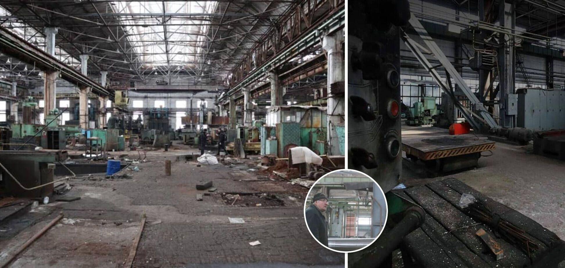 Завод 'Більшовик' відправляють на приватизацію