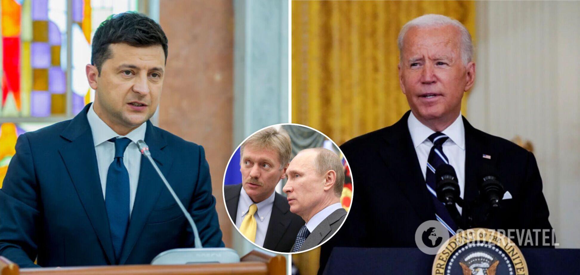 Переговори Зеленського і Байдена – реакція Росії