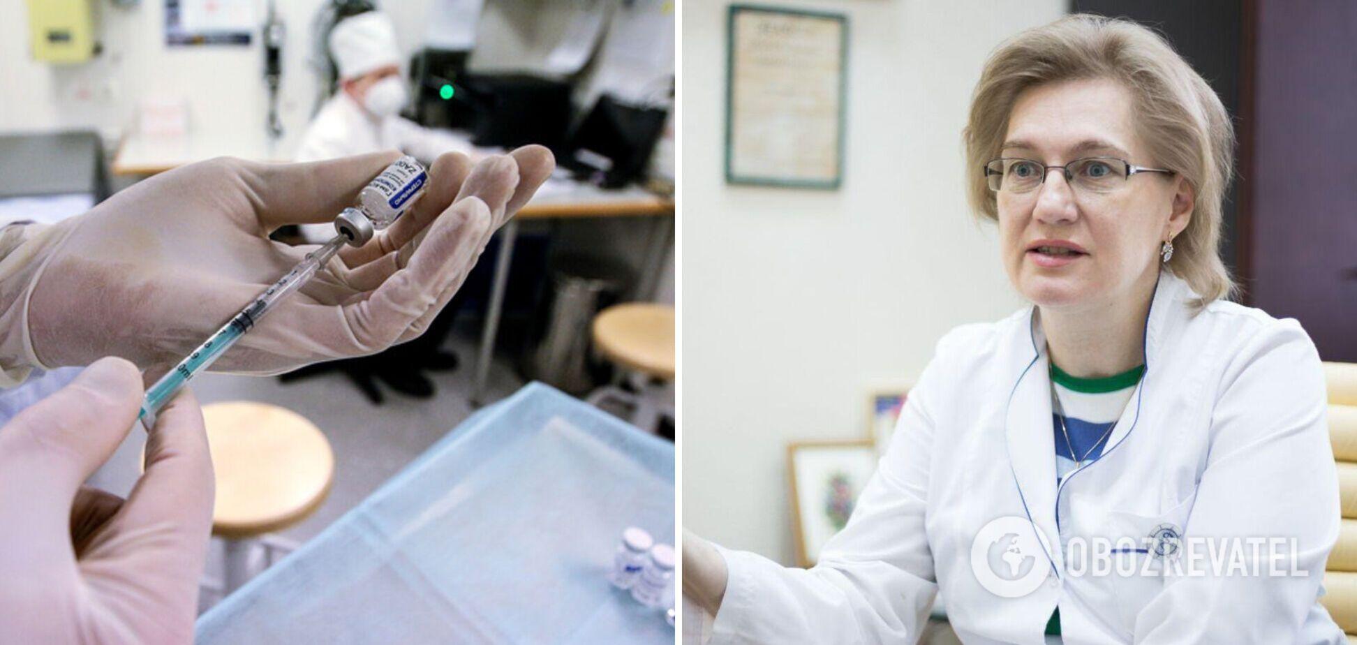 Голубовская рассказала, какой может быть 'побочка' после вакцинации и что нужно знать
