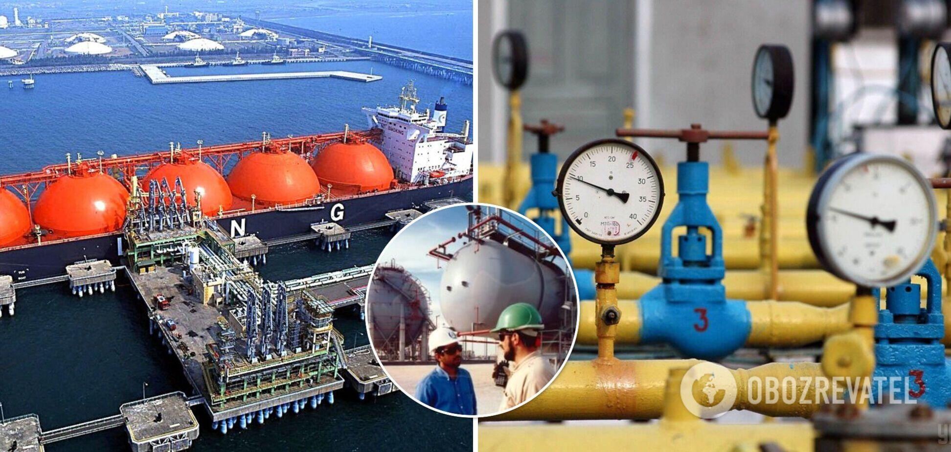 Украина может начать импорт газа из Катара