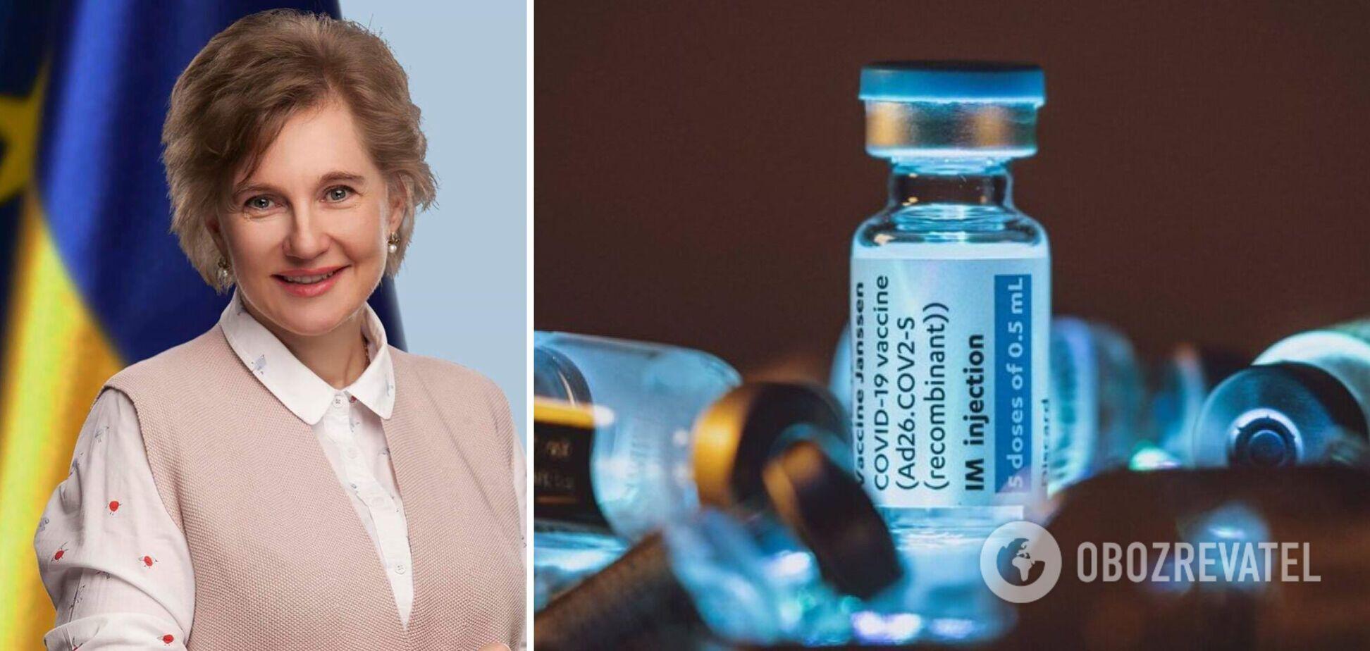 Голубовська назвала головні протипоказання до вакцинації від COVID-19: кому не можна робити щеплення