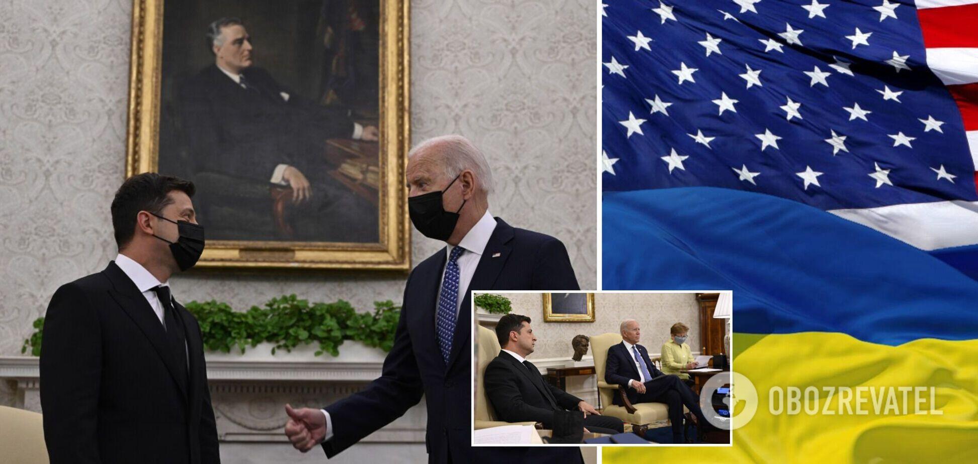 Історична зустріч: про що домовився Зеленський із Байденом і що тепер отримає Україна