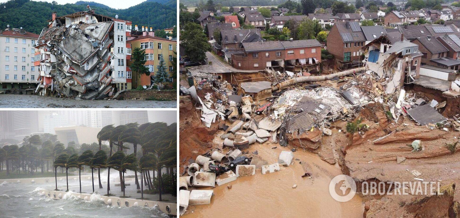 Стихия разрушила тысячи домов