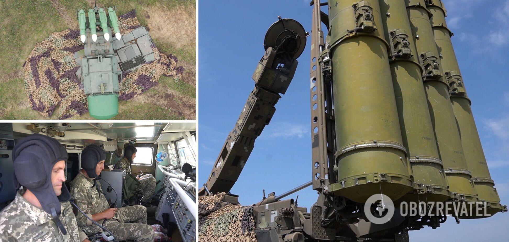 Завдання відпрацьовувались на ЗРК 'Бук', 'Оса' та С-300