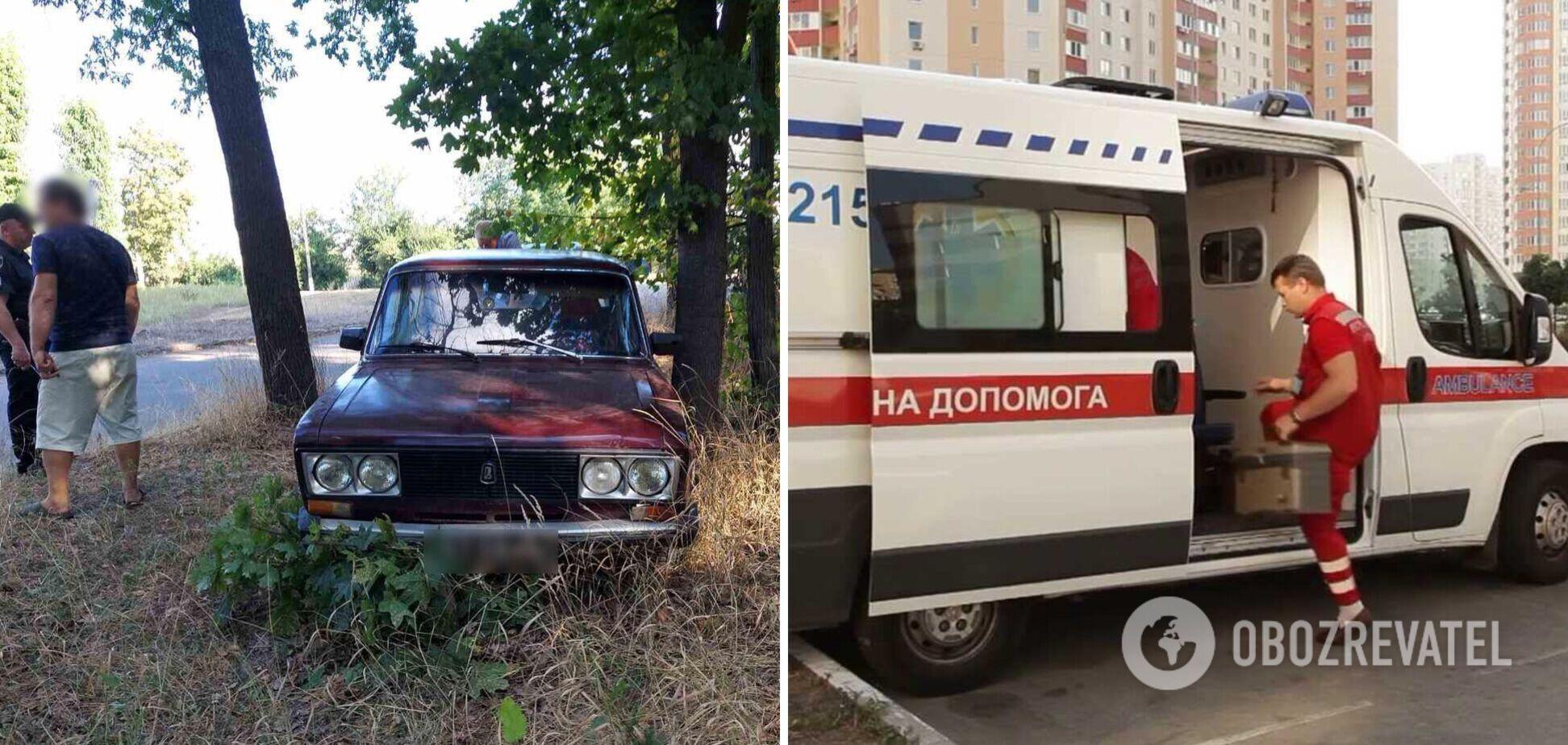 На Харьковщине авто влетело в толпу людей, пострадали двое школьников: появились данные об их состоянии. Фото