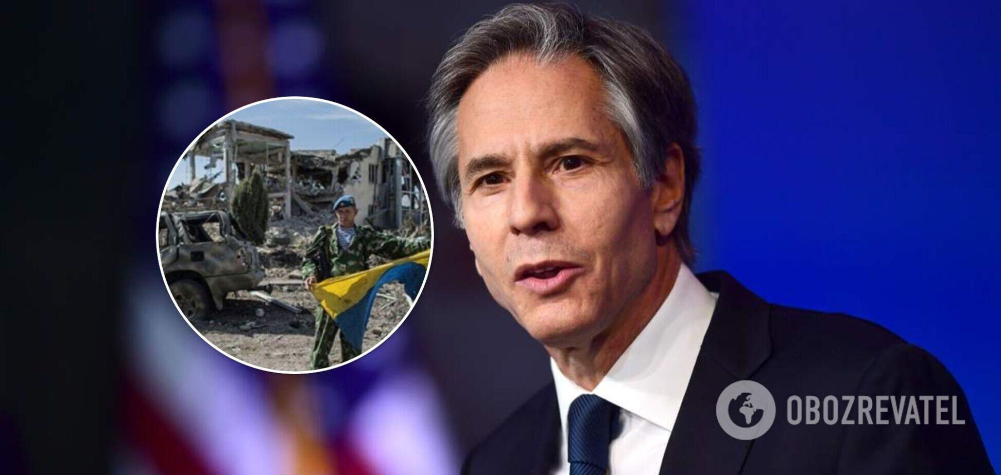Блинкен сообщил, что США предоставят Украине гуманитарную помощь