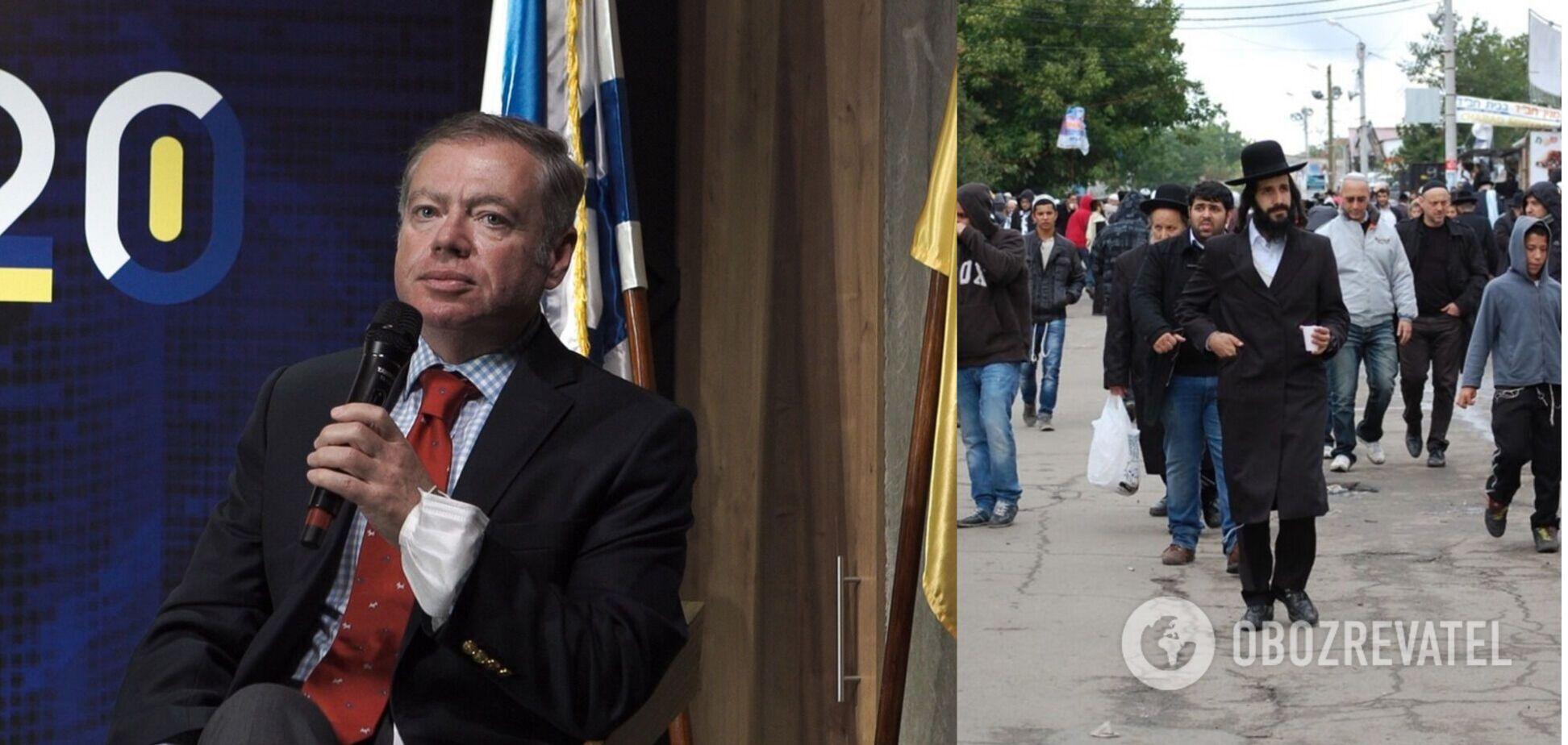 Українська влада вжила безпрецедентних заходів для забезпечення безпечного паломництва хасидів, розповів Корнійчук