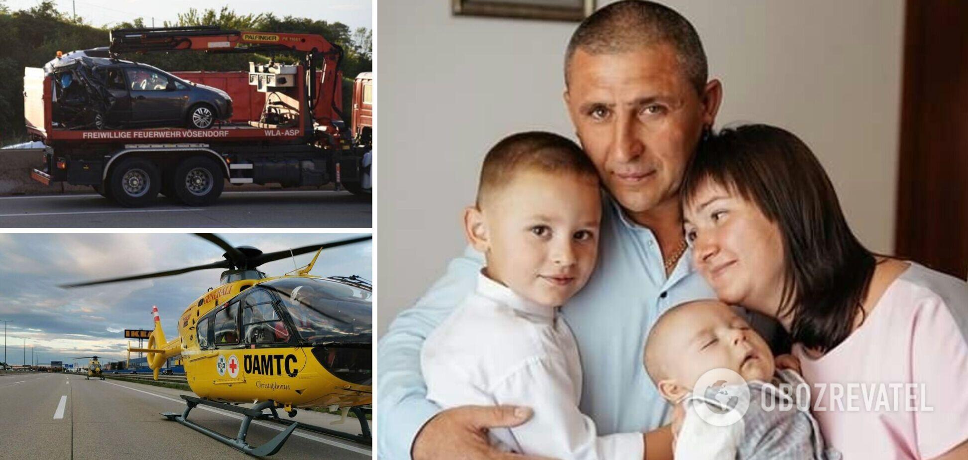 В Австрии в ДТП погибли два маленьких брата-украинца со Львовщины: подробности трагедии