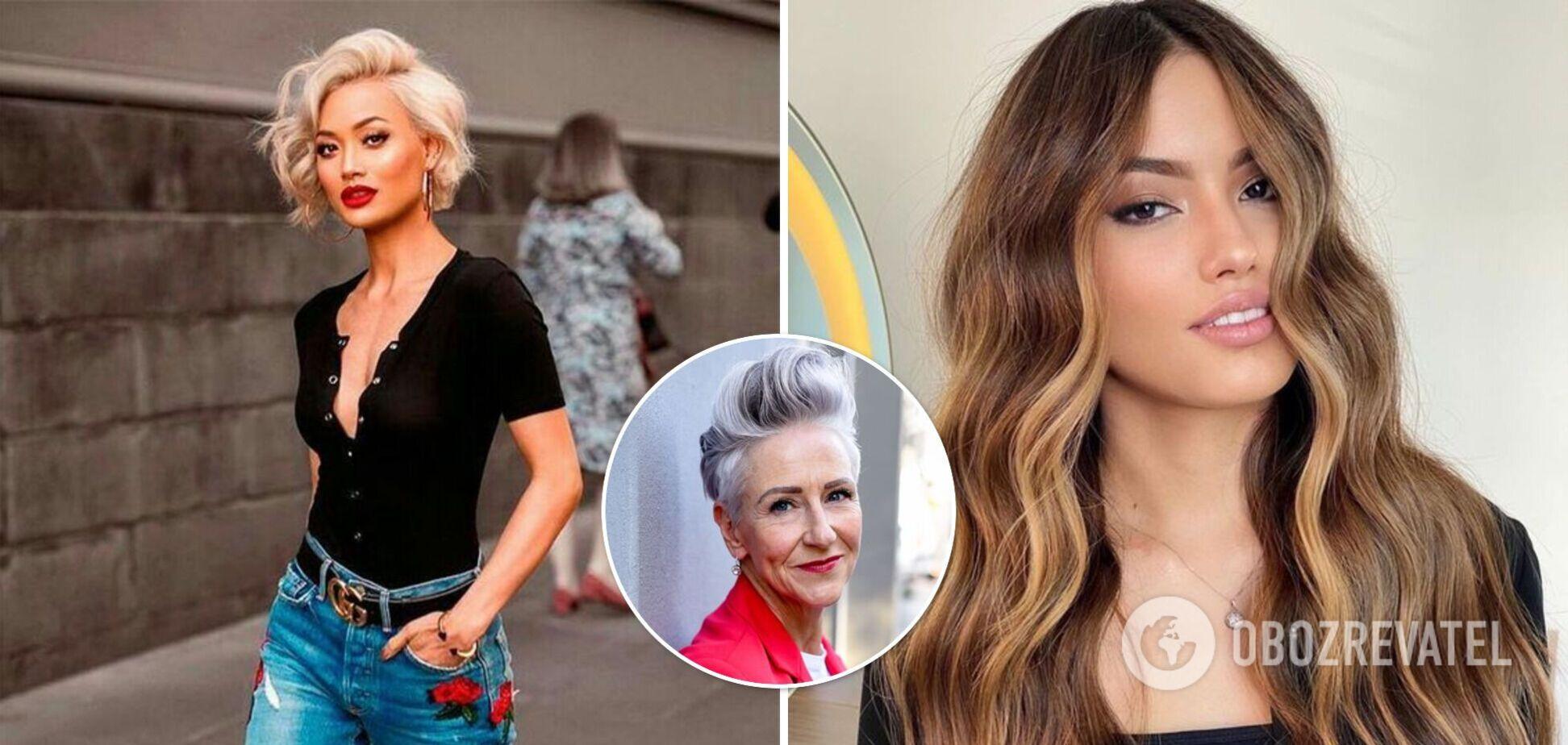 Модные стрижки и цвет волос осенью 2021.Интервью с парикмахером-стилистом