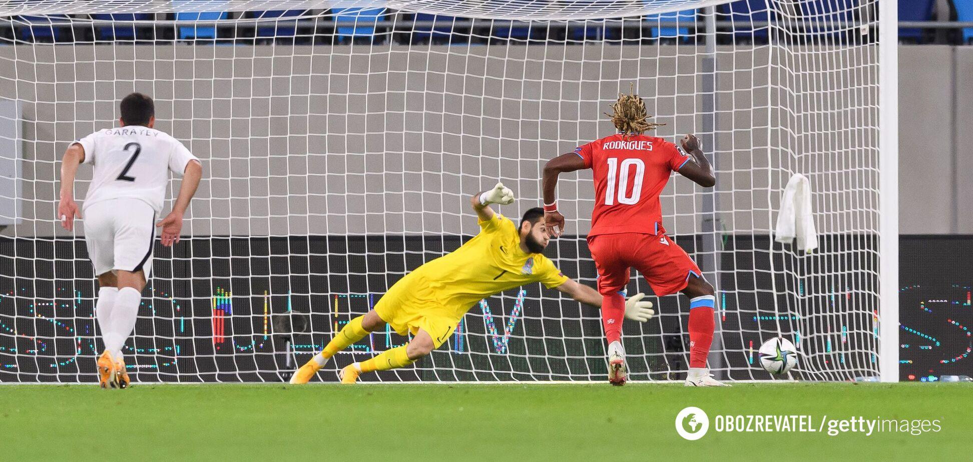 Жерсон Родрігес забив Азербайджану