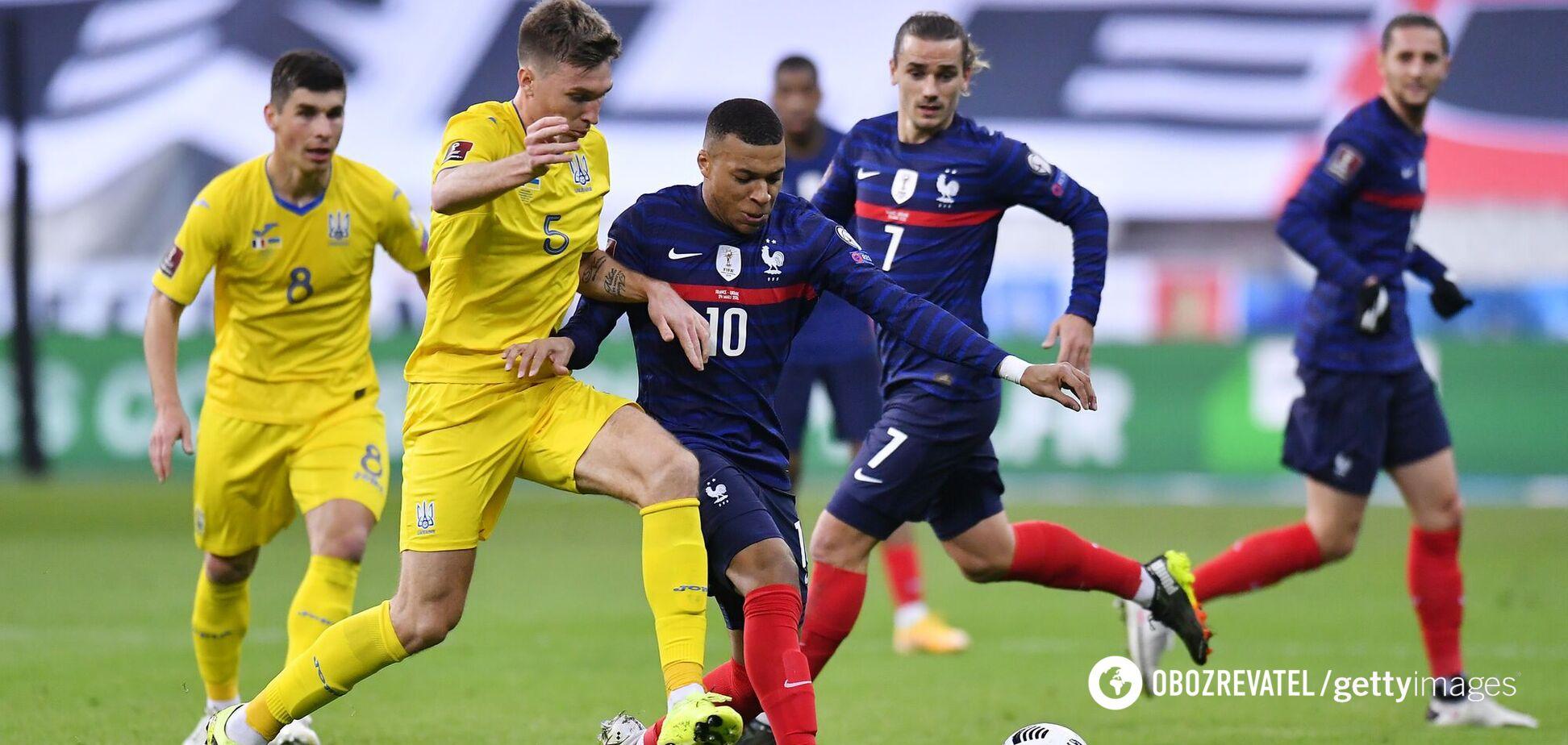 Украина Франция где смотреть матч 04 09 2021