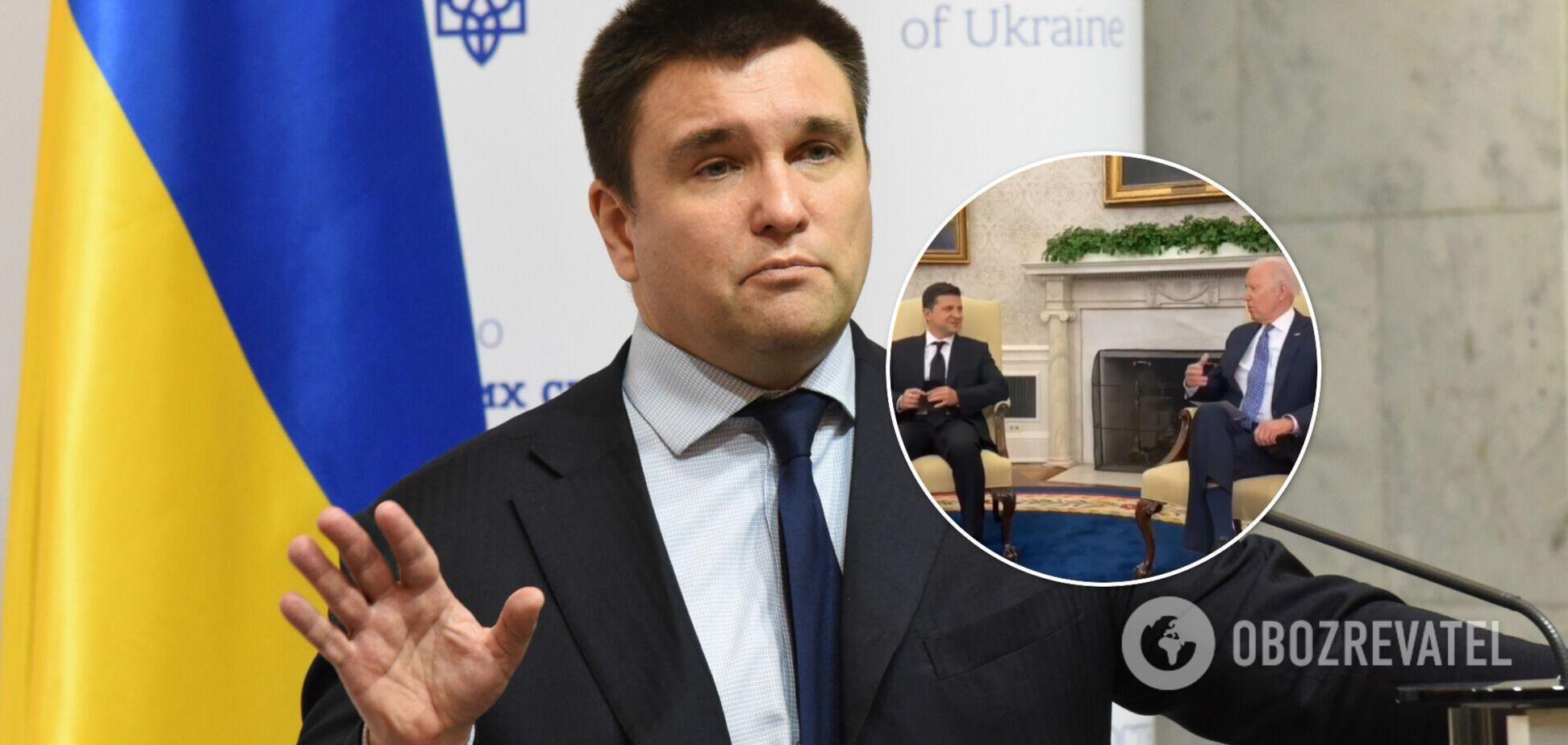 Клімкін назвав 'рецепт' для України: не треба сподіватися на дядька Джо
