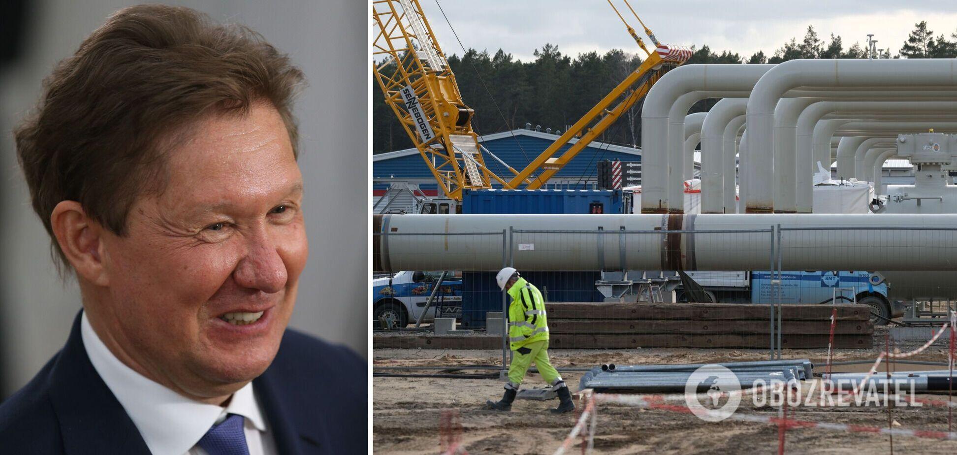 Алексей Миллер назвал сроки коммерческого запуска газопровода 'Северный поток-2'