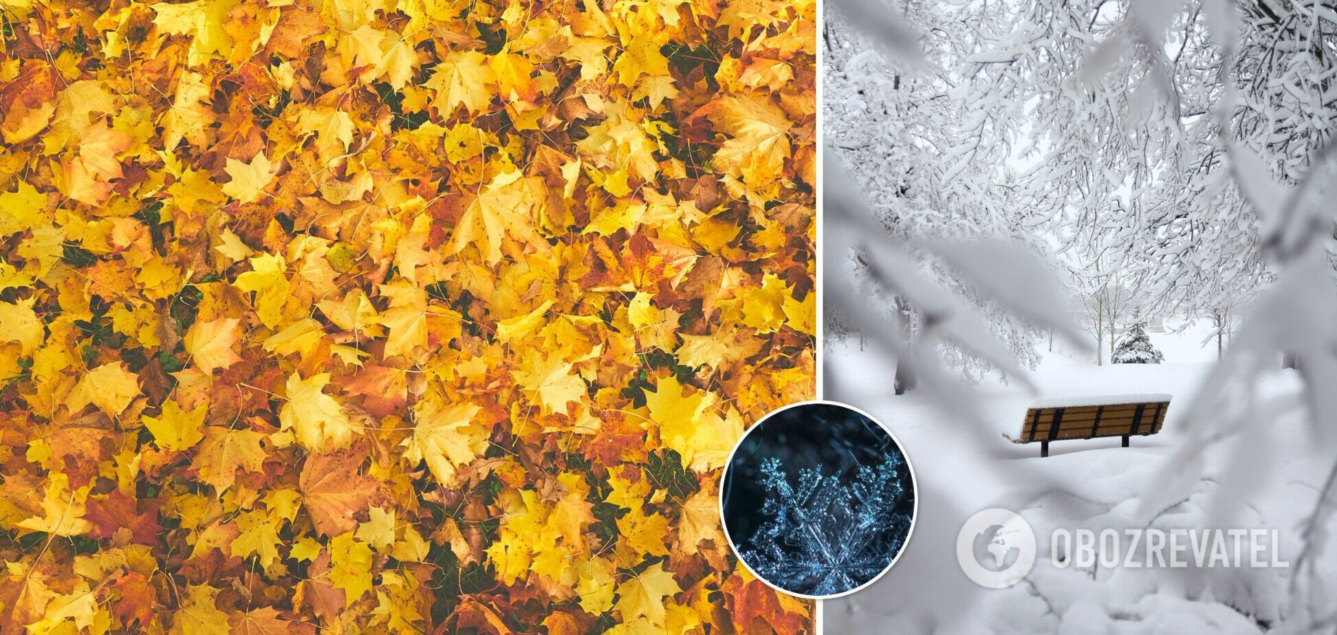 В Україні восени може піти сніг