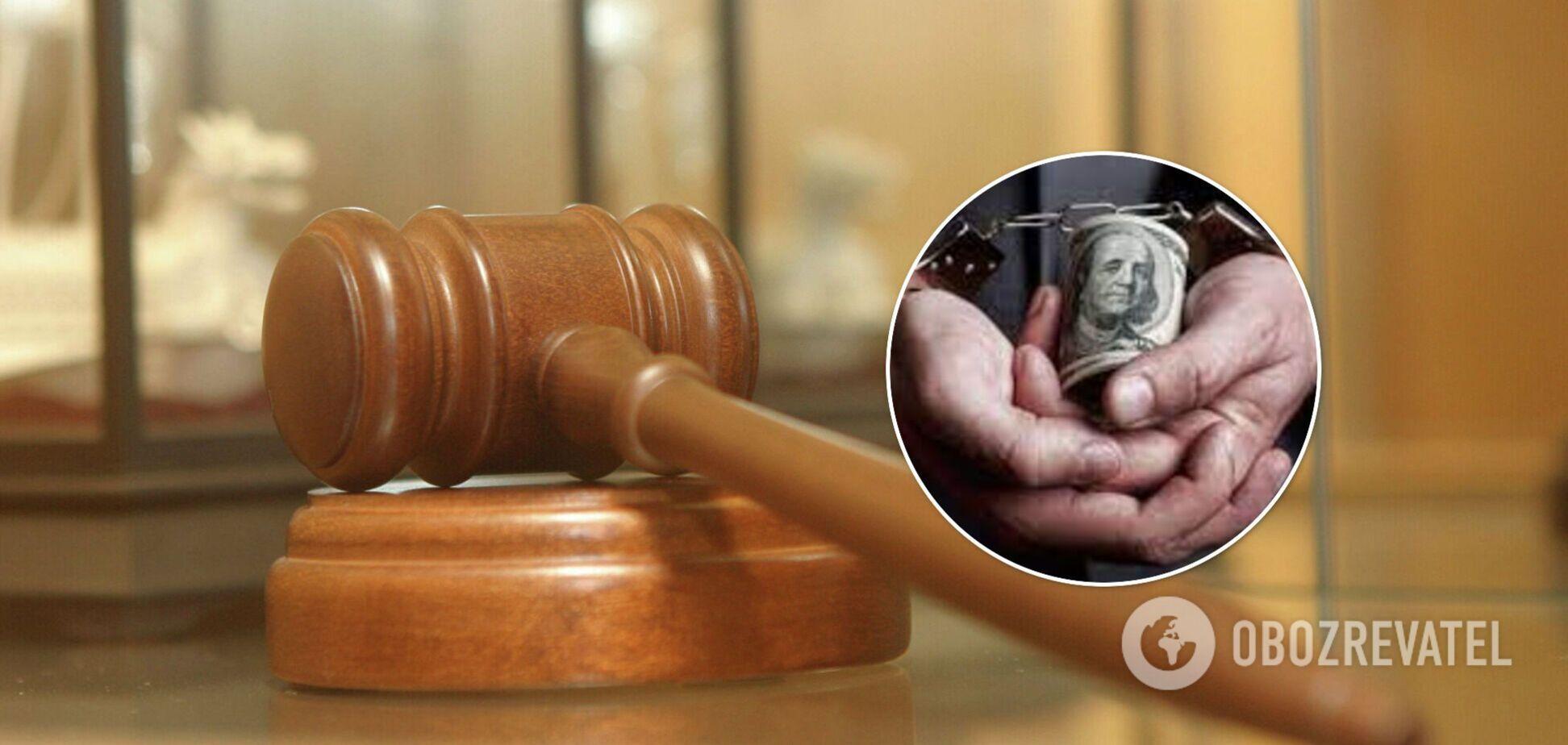 ВАКС відправив до в'язниці пійманого на хабарі ексглаву суду на Тернопільщині