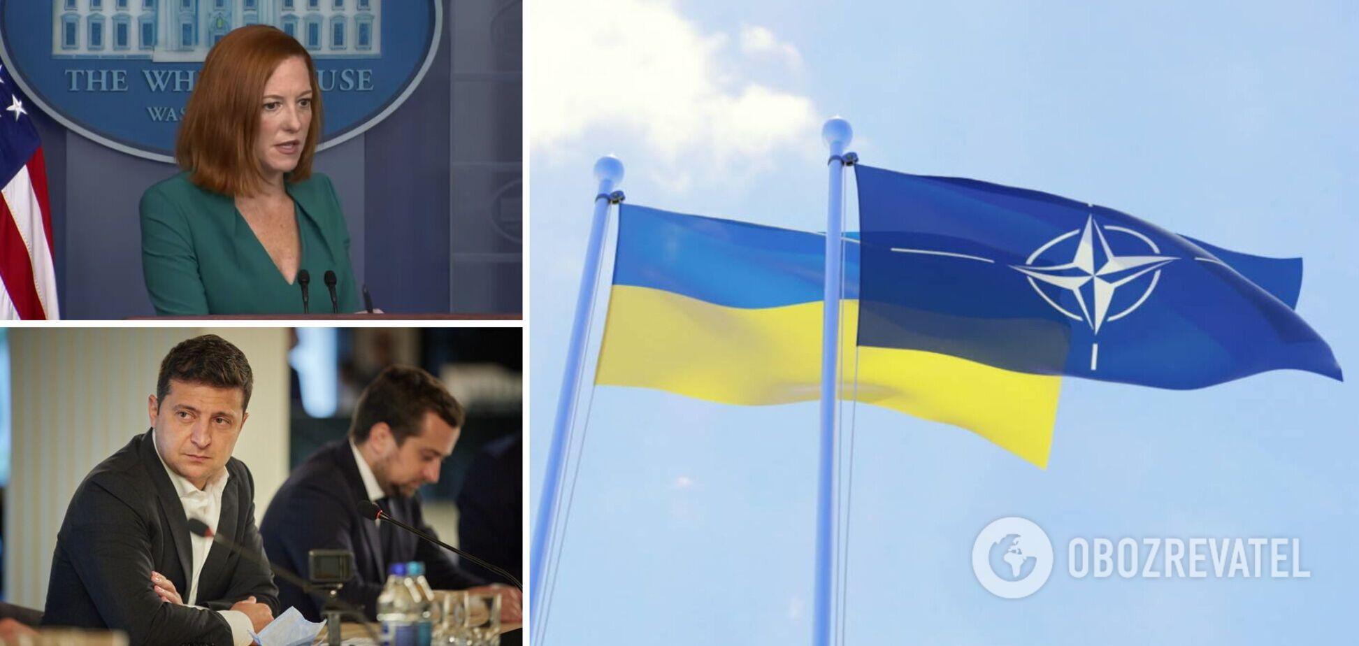 В США прокомментировали возможность членства Украины в НАТО