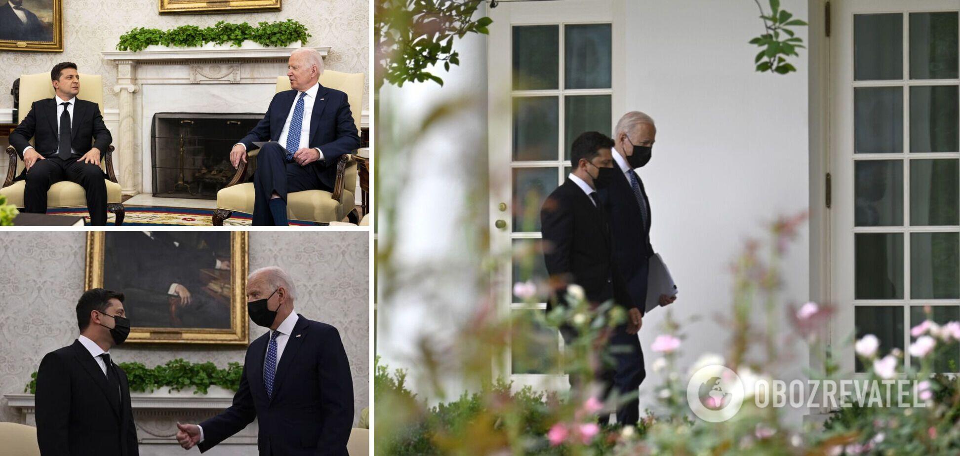 Встреча президентов Украины и США