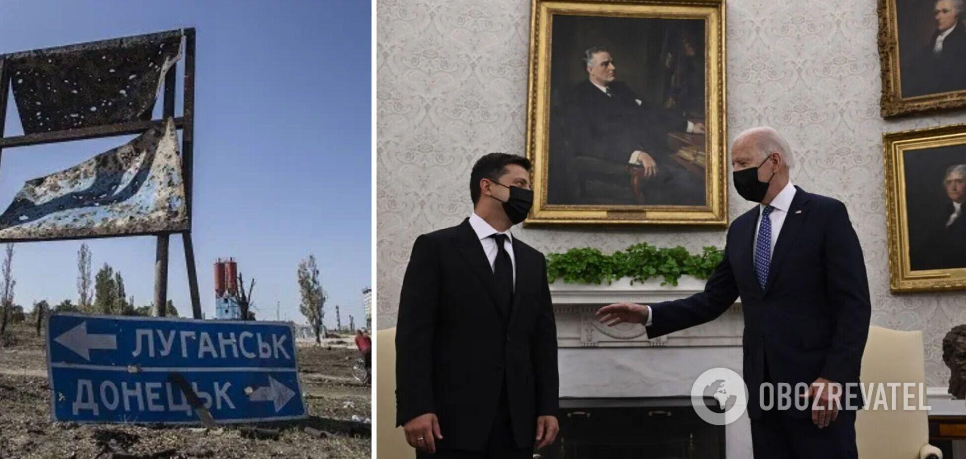 Найскладніше питання і план щодо Донбасу: Зеленський розкрив деталі переговорів із Байденом