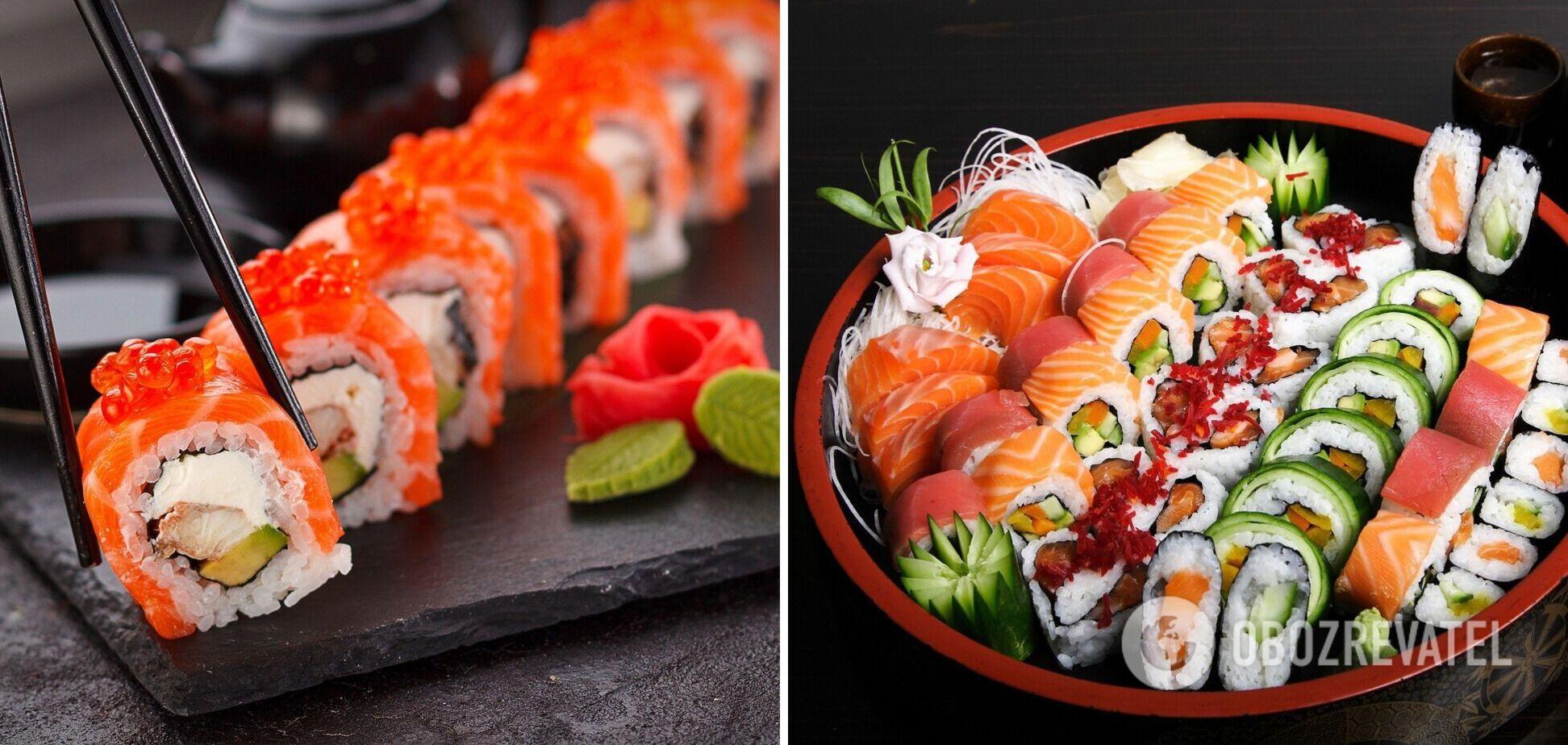Как выбрать и сколько раз в неделю можно есть суши