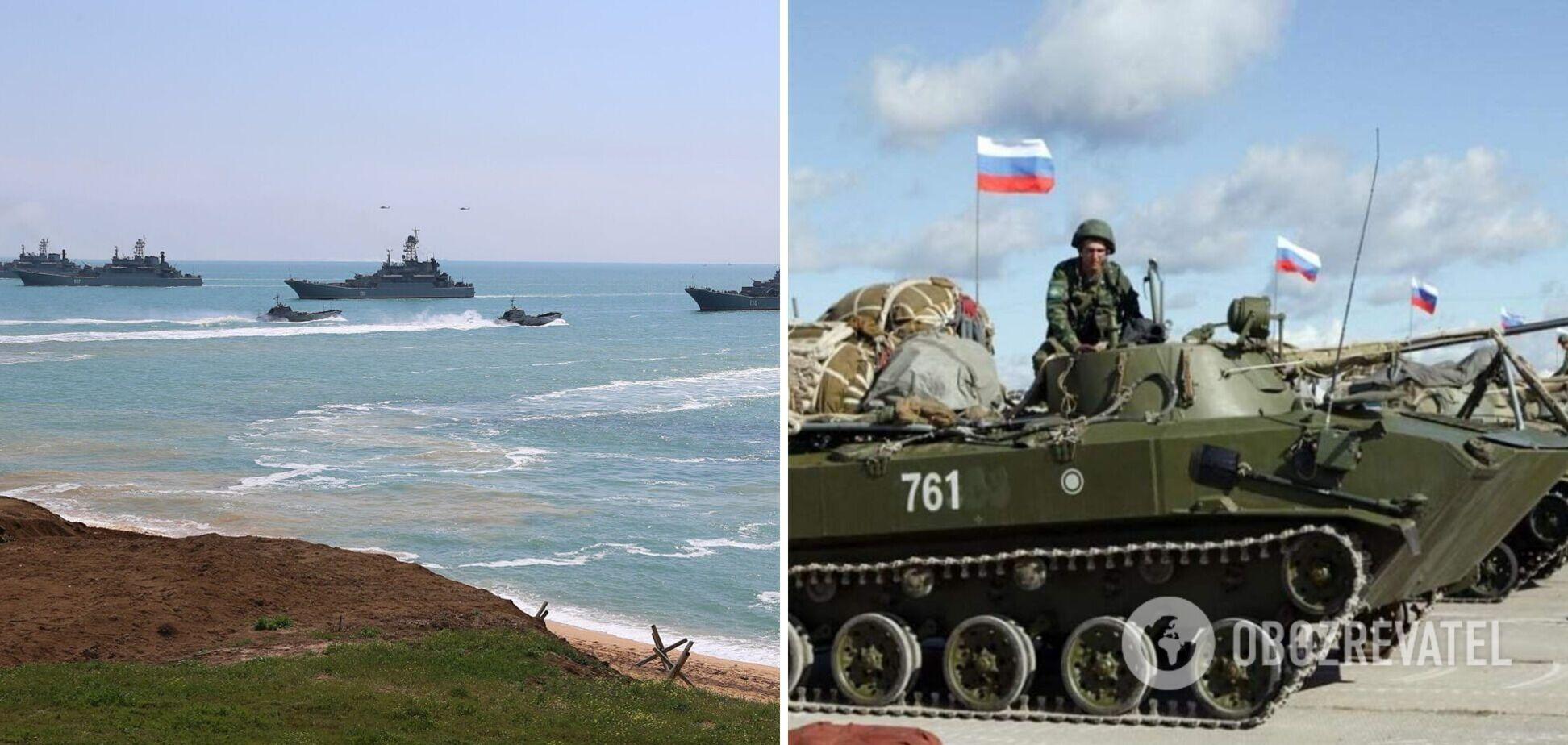 Росія почала масштабні навчання зі стрільбами в Чорному морі