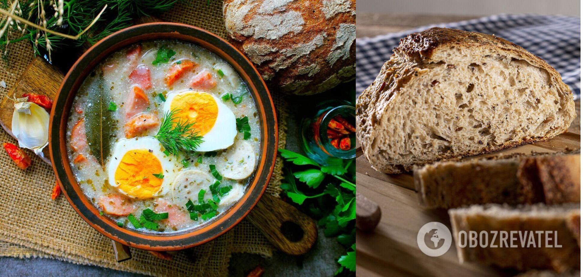 Як приготувати вдома смачний польський суп журек