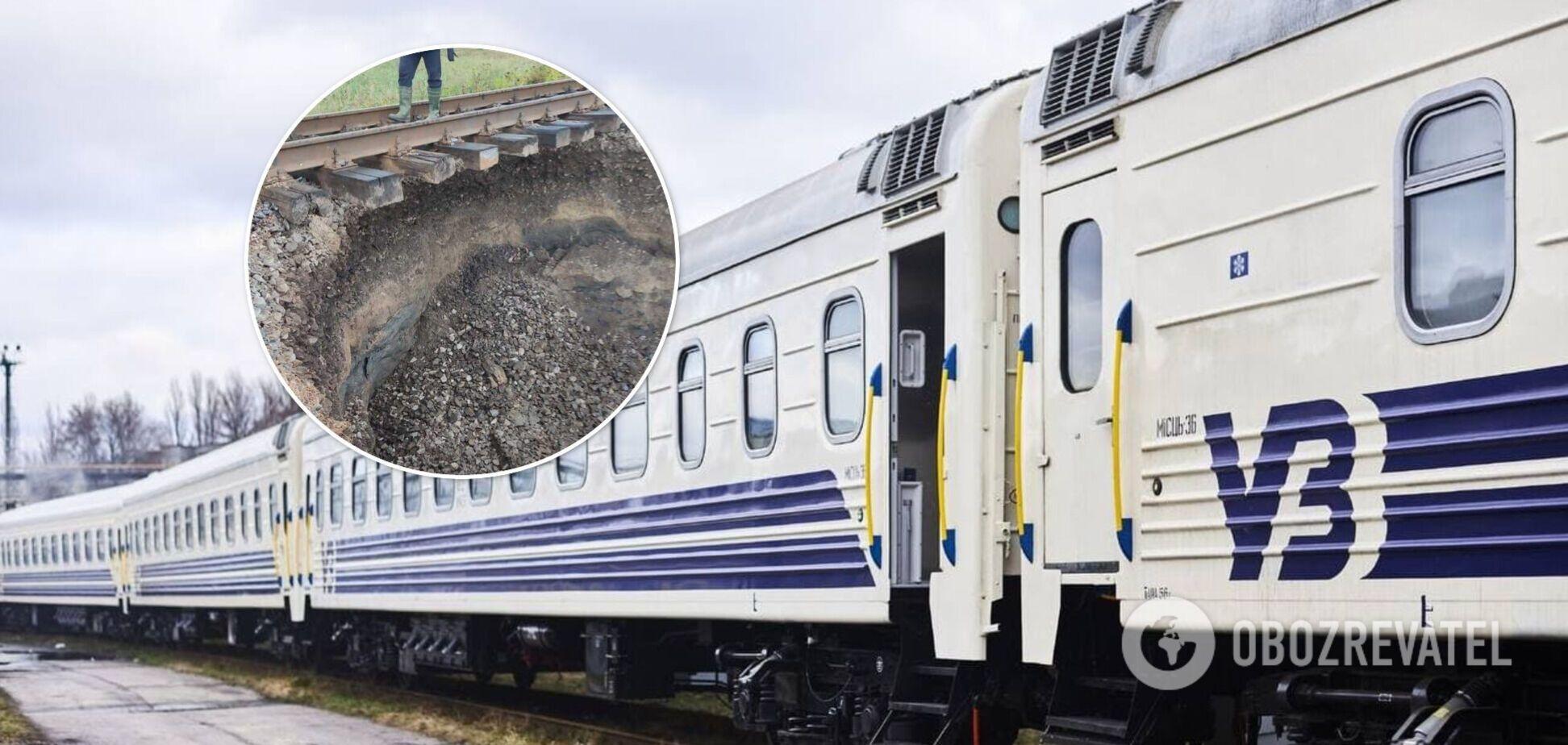 В Україні затримали кілька поїздів: в 'Укрзалізниці' назвали причину