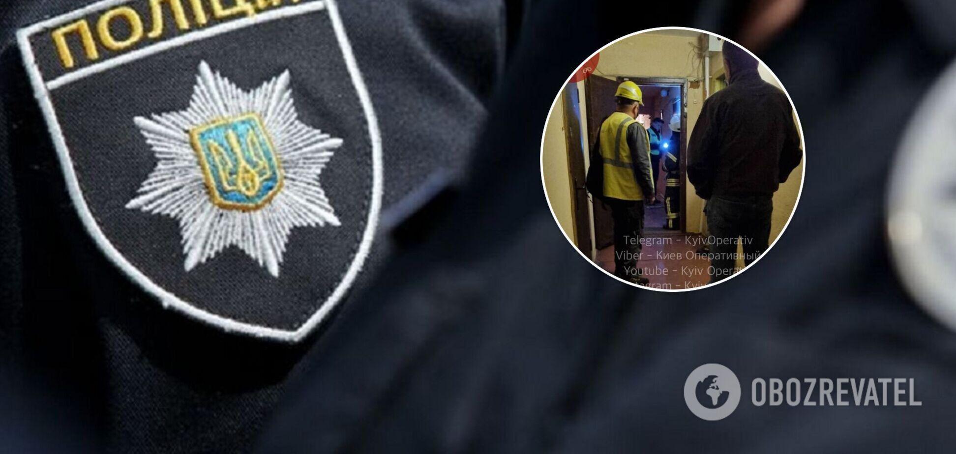 В Киеве мужчина угрожает взорвать дом
