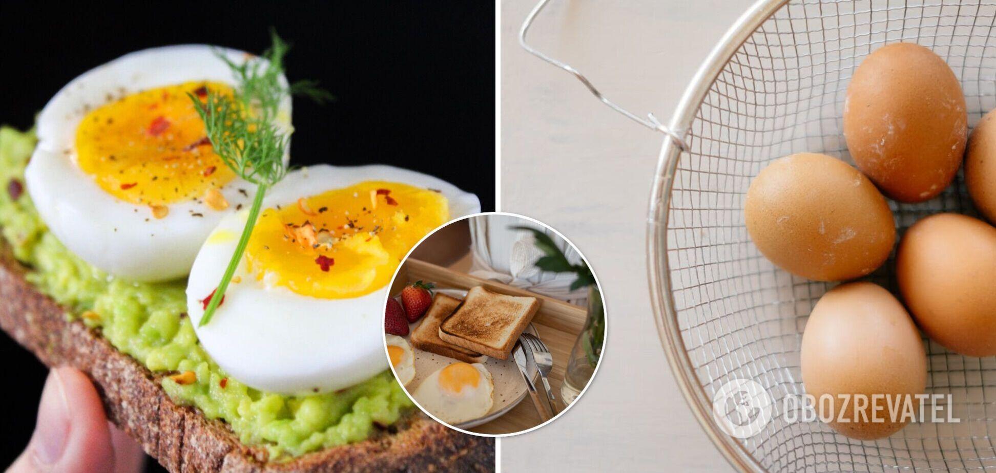 Як варити яйця, щоб не зіпсувати сніданок