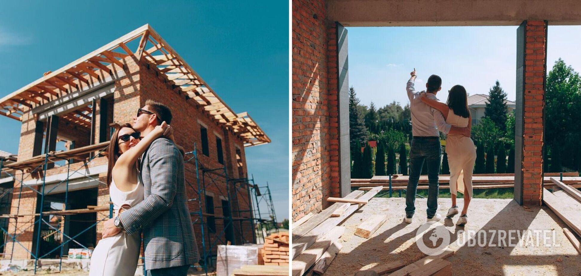 Біля озера та з панорамними вікнами: з'явилося відео будинку Остапчука і його дружини. Ексклюзив