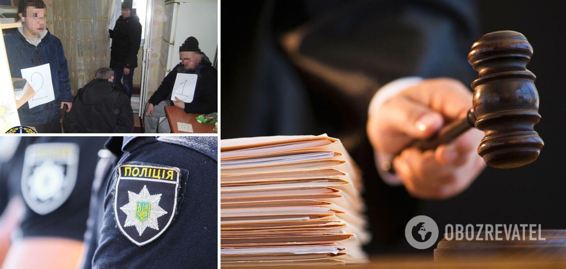 Суд отправил за решетку двух экс-полицейских с Днепропетровщины, укравших у вора 42 млн грн. Фото