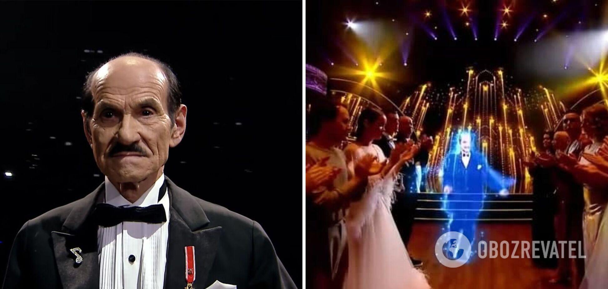 На 'Танцях з зірками' неожиданно 'выступил' Григорий Чапкис. Фото и видео