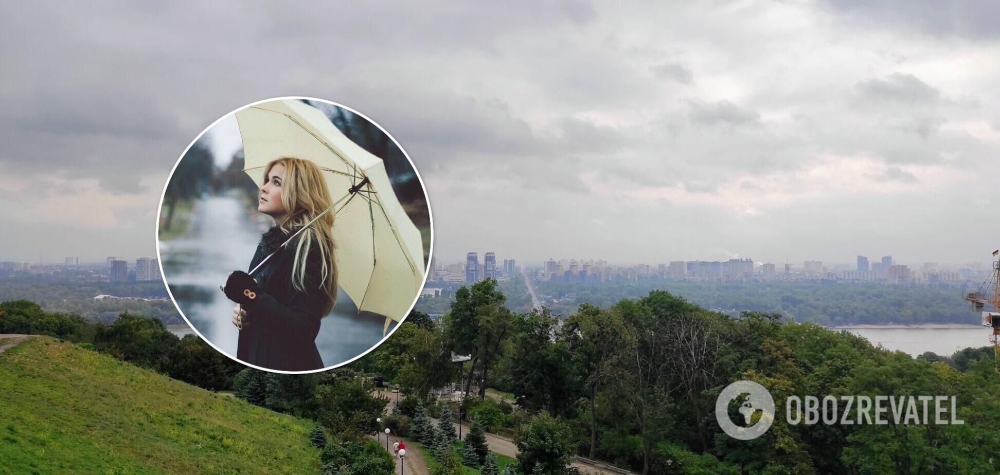 Усі дні в столиці можливі дощі
