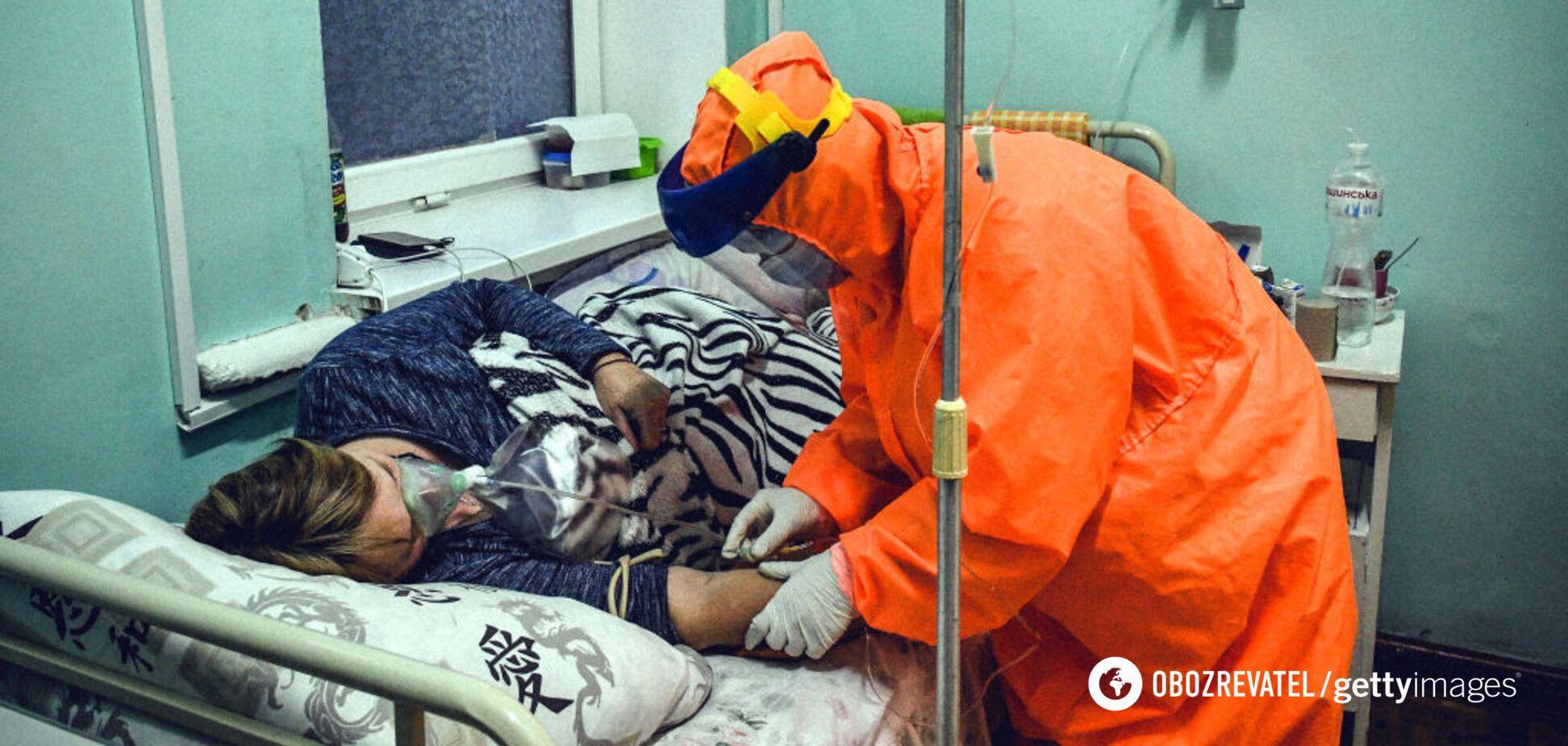В Украине показатель COVID-госпитализаций превышен в 11 областях