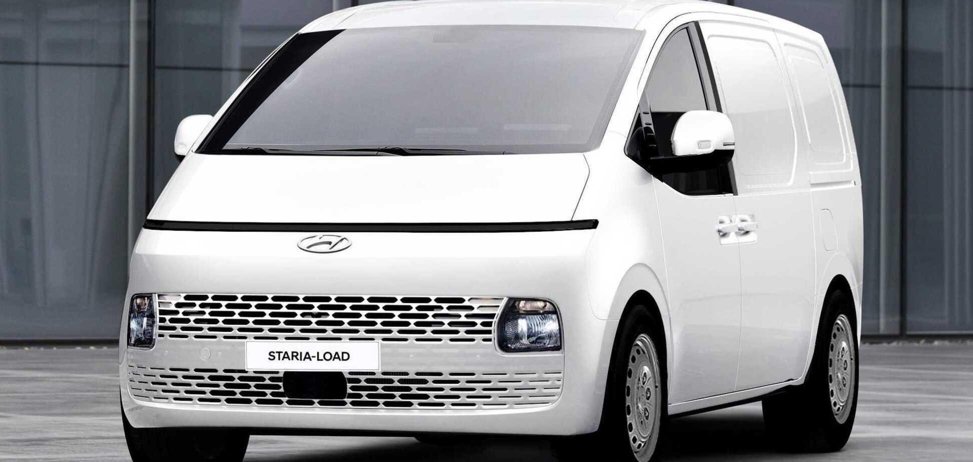 Hyundai Staria отримала вантажну версію