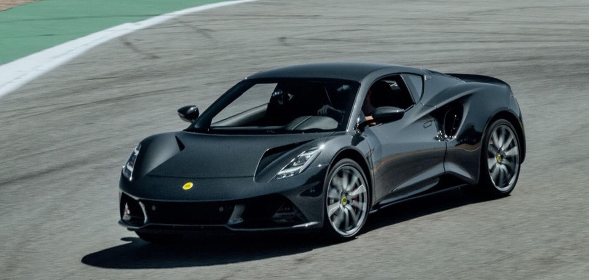 Lotus рассказал о новом суперкаре Emira