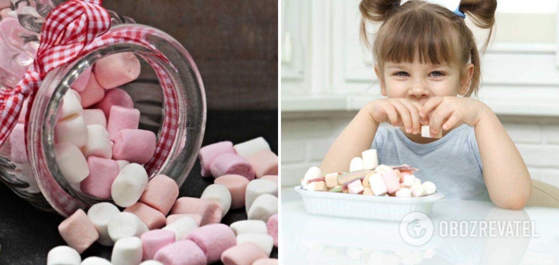 Як вдома приготувати маршмелоу для дитини