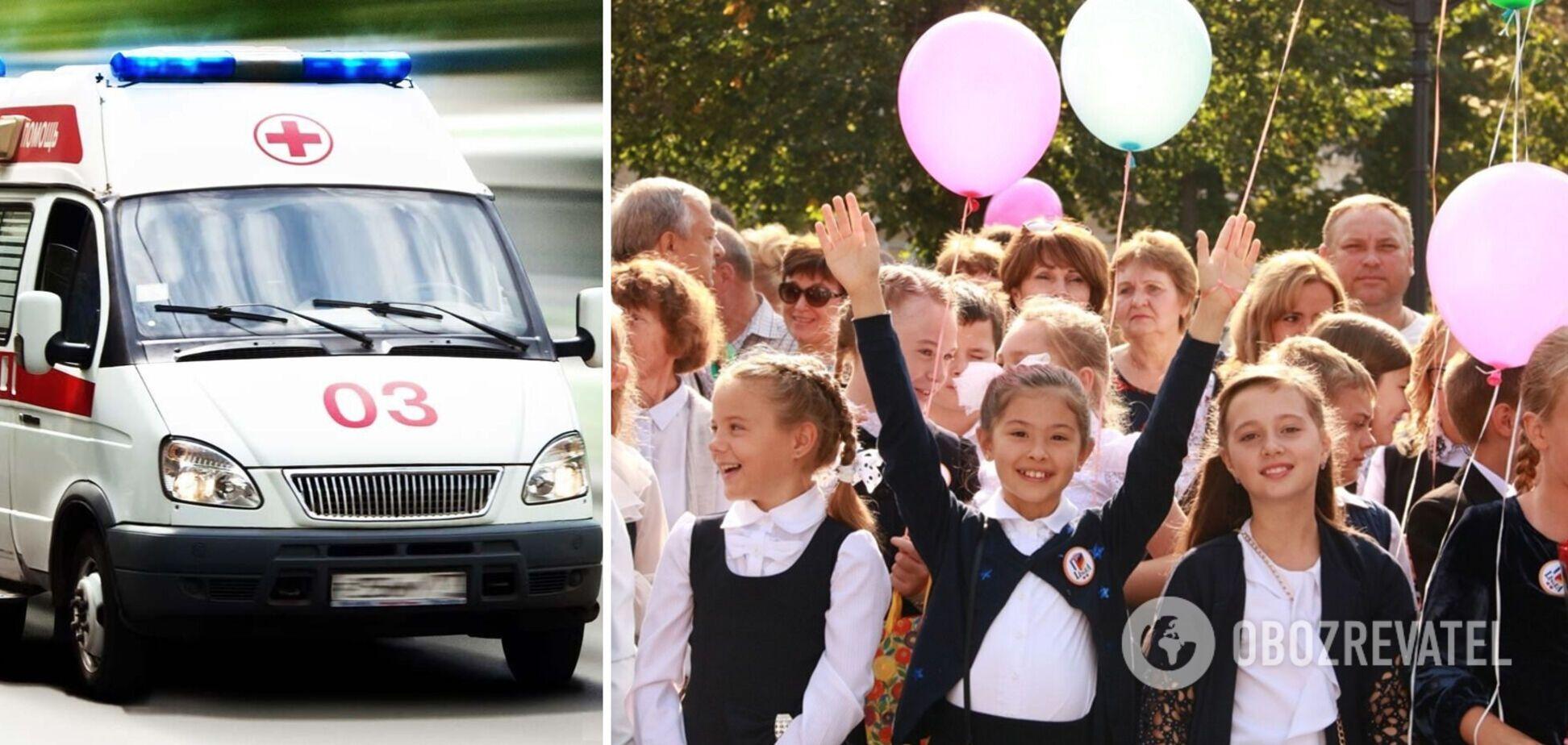 В Николаевской области массово отравились школьники после празднования Дня здоровья