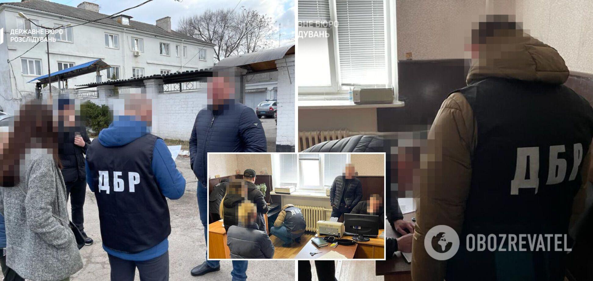 В Днепропетровской области разоблачили банду 'оборотней в погонах', которые силой выбивали деньги у граждан. Видео