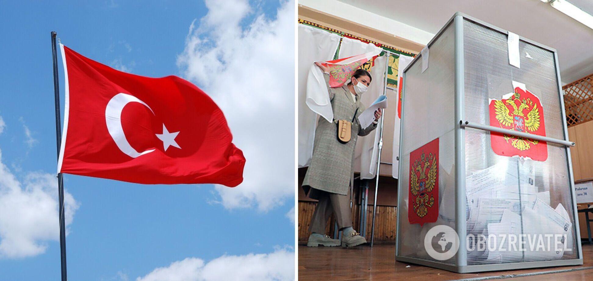 В Турции заявили, что не признают результаты российских 'выборов' в оккупированном Крыму