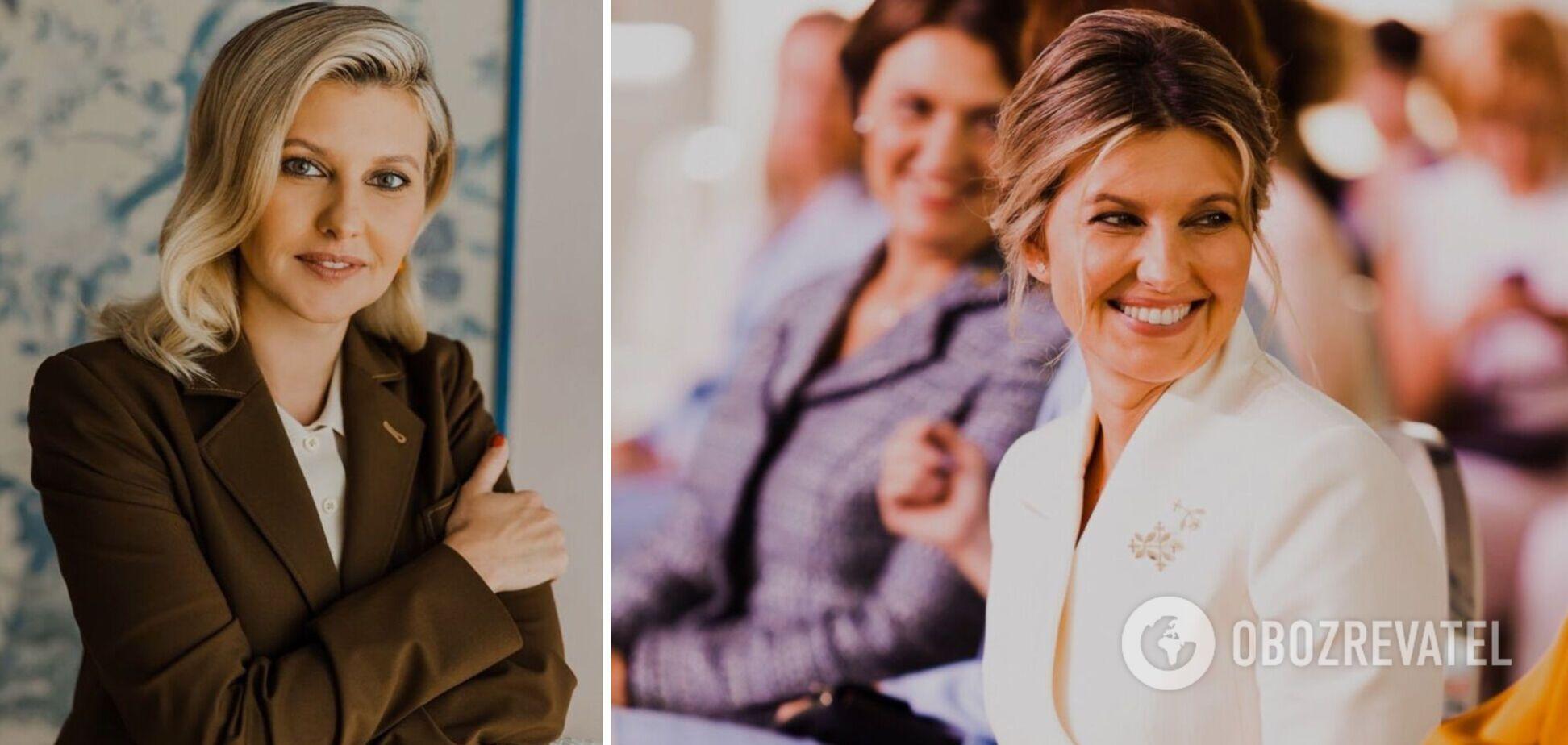 В образе учительницы: Зеленская снялась для украинского журнала. Фото