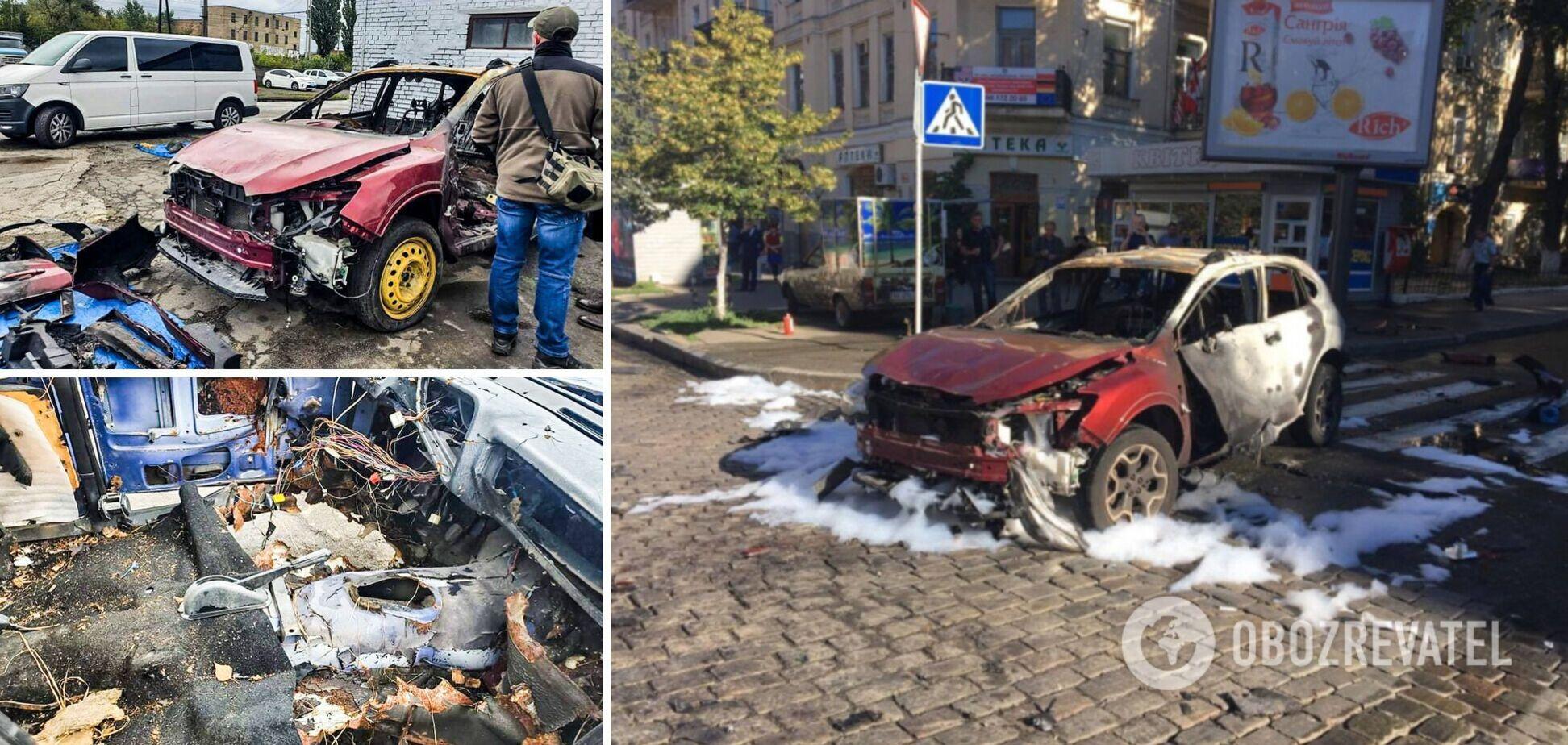 В Киеве прошло выездное заседание по 'делу Шеремета': показали взорванное авто, но возник ряд вопросов. Фото