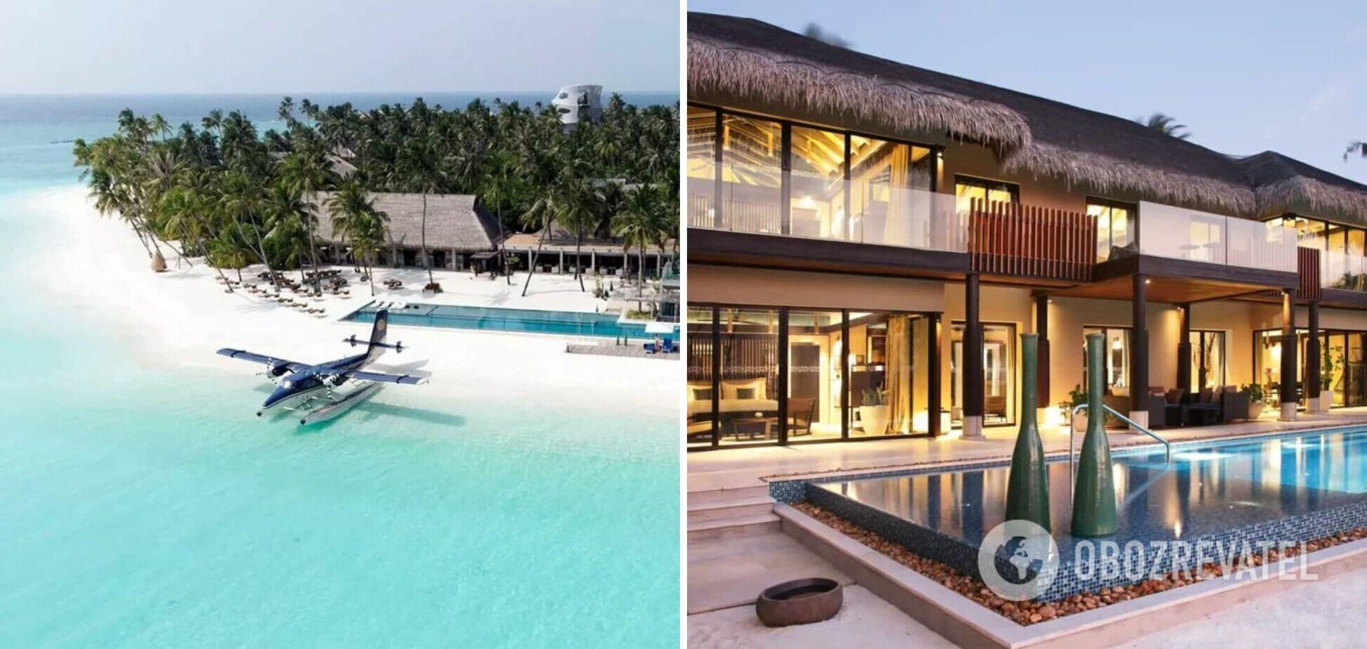 Больше 1 млн грн в сутки: как выглядит самый дорогой отель на Мальдивах. Фото
