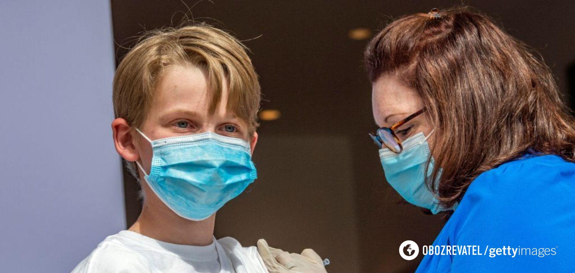 Pfizer обнародовала данные о результатах испытаний вакцины среди детей от 5 до 11 лет