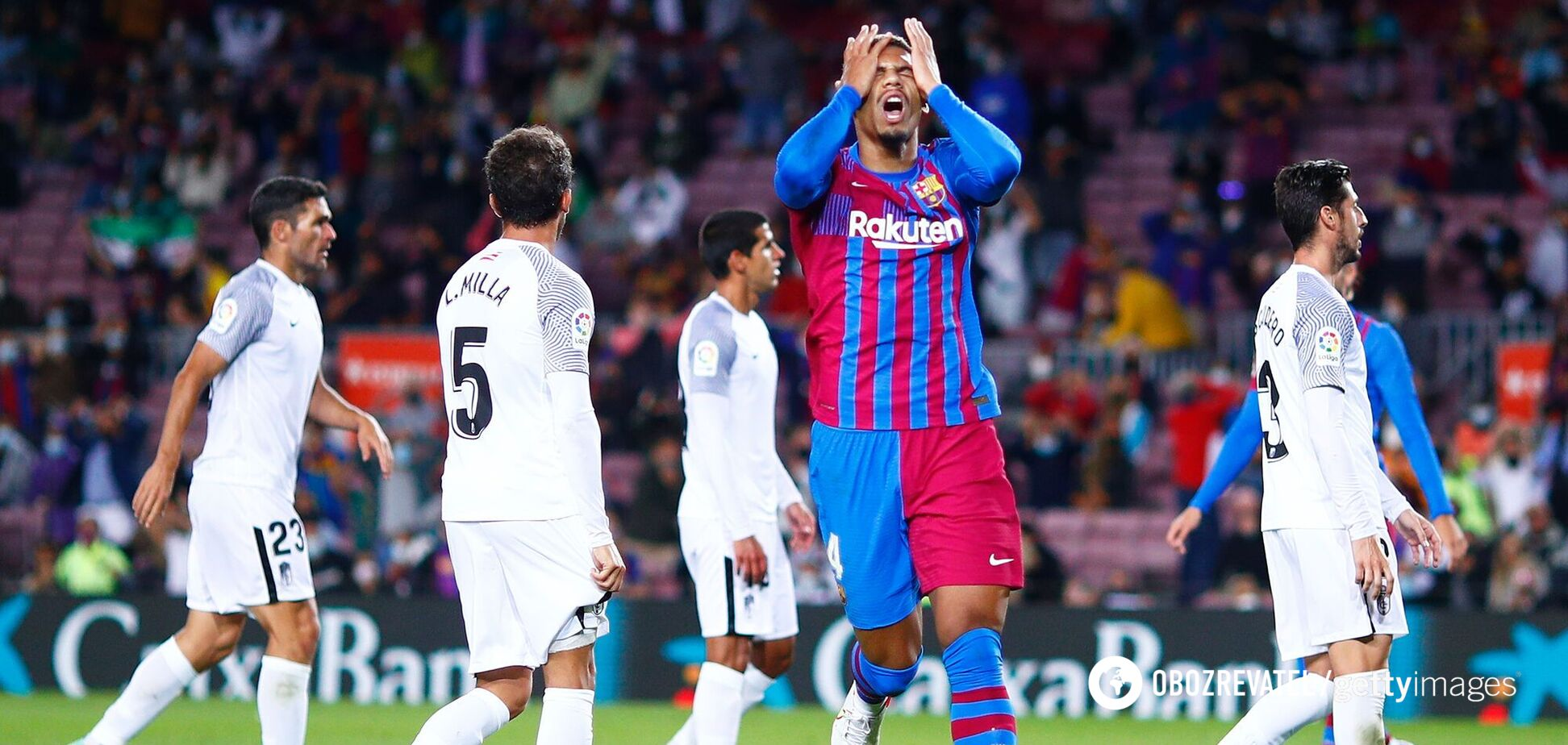 Барселона Гранада результат и обзор матча