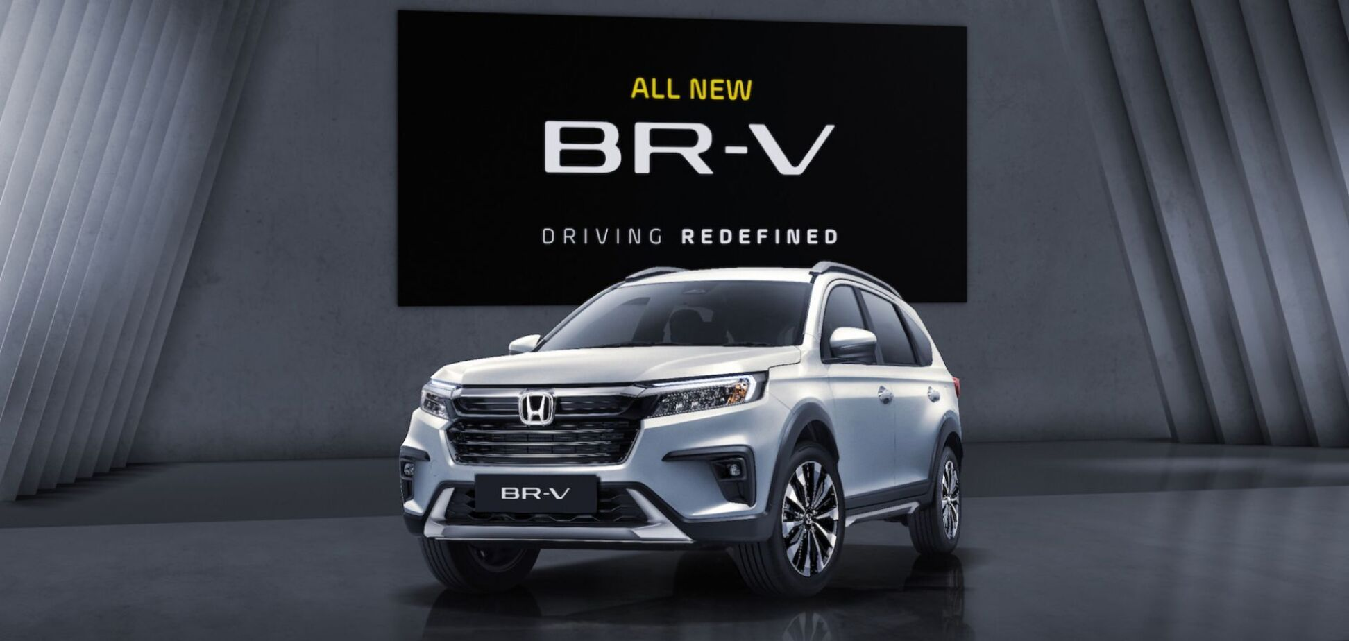Honda показала 7-местный кроссовер BR-V