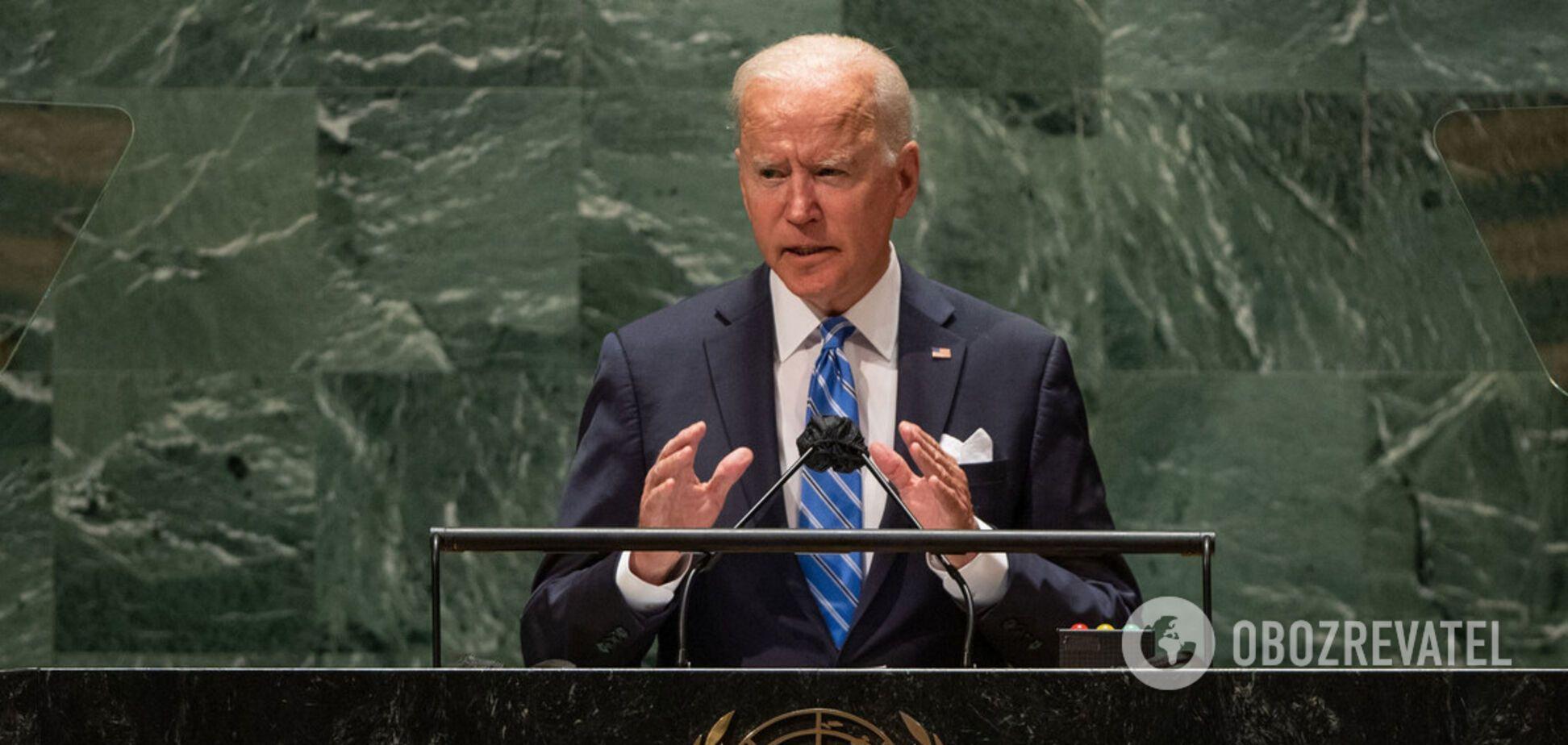 Нова дипломатія США, боротьба з COVID-19 і захист слабких: головне з виступу Байдена на Генасамблеї ООН