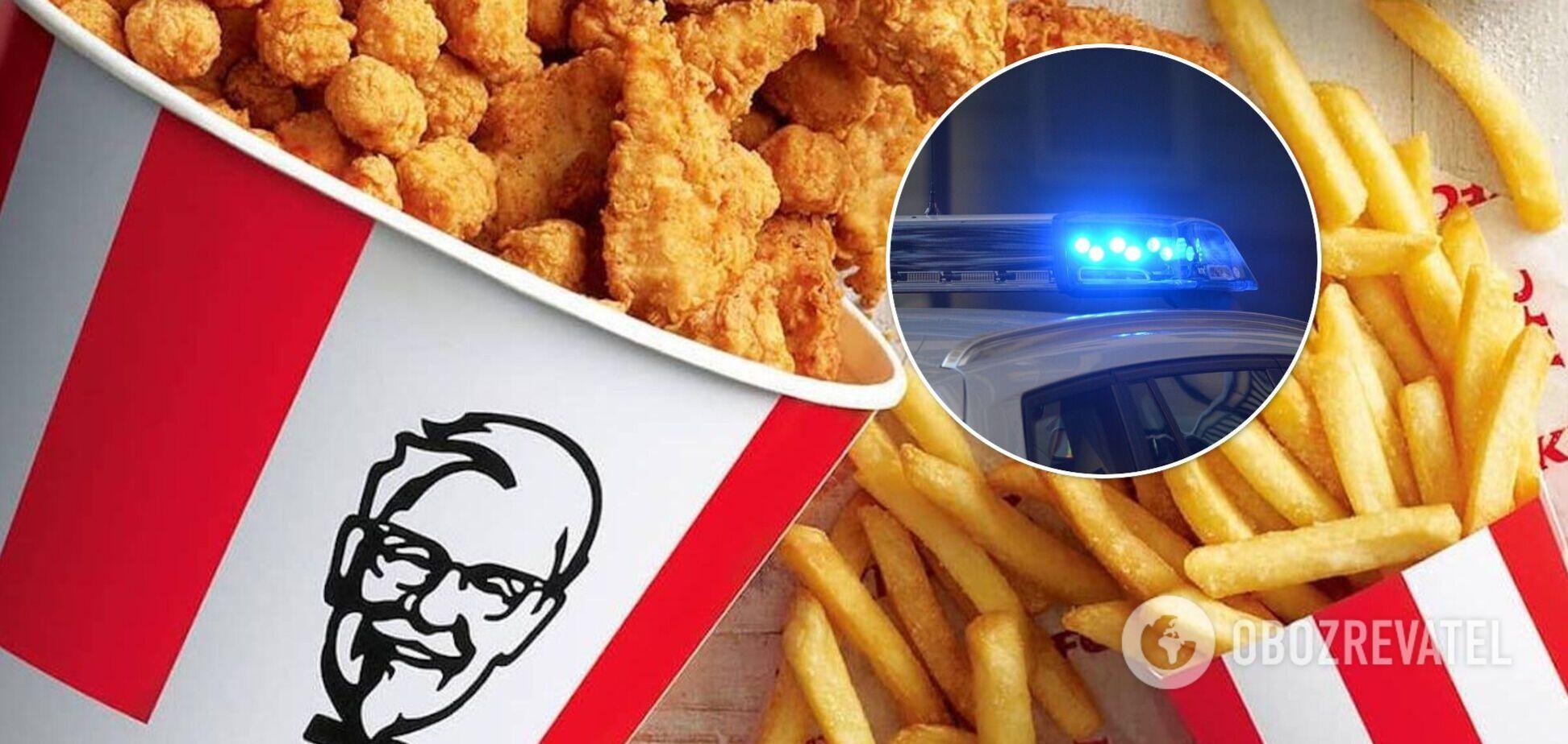 Нарушители с KFC в Новой Зеландии