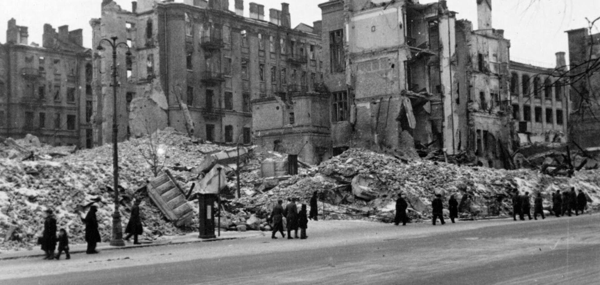 Крещатик, который разрушил Сталин: 80 лет спустя