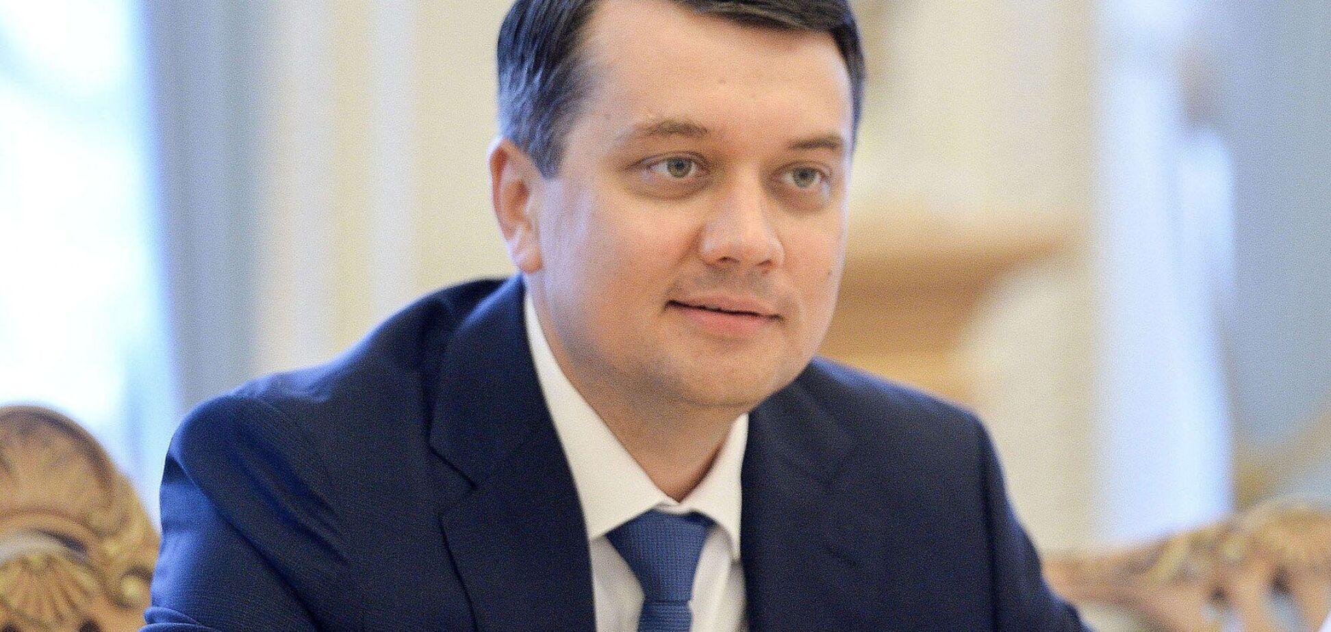Опозиційні партії в Раді виступили проти відставки Разумкова і назвали причину