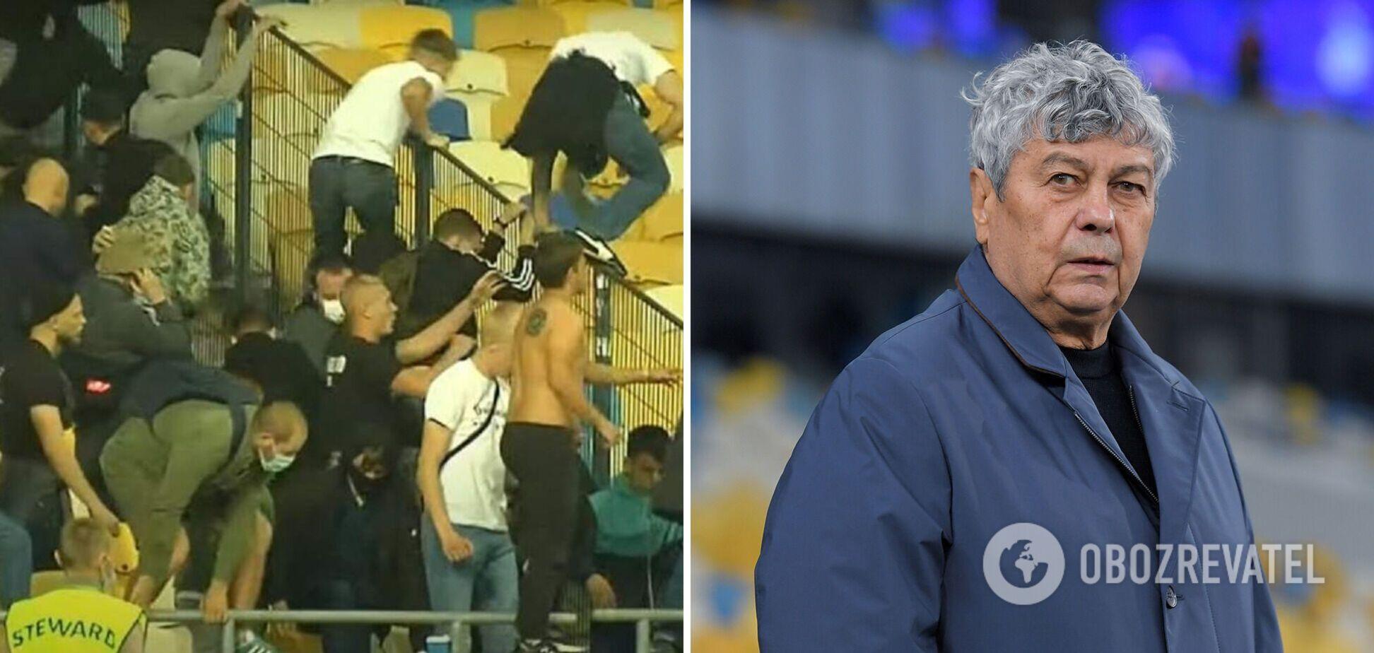 Луческу запретил игрокам Динамо подходить к фанатам